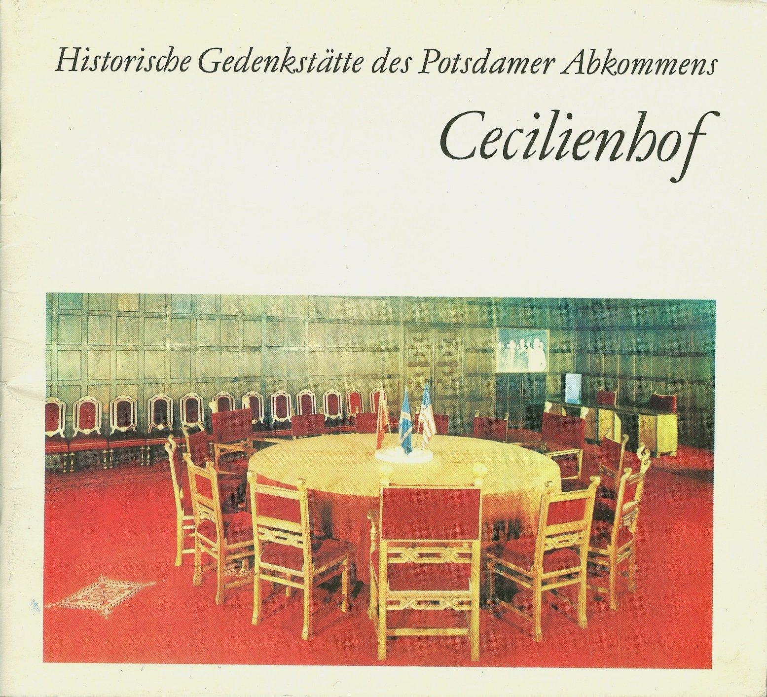 Cecilienhof: Historische Gedenkstatte des Potsdamer Abkommens ...