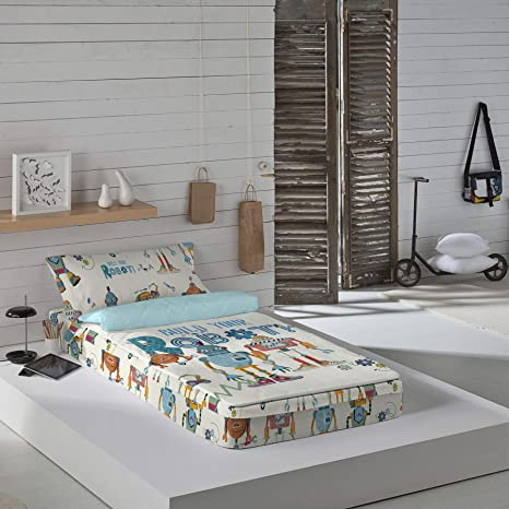 Dormir Happy Saco Nórdico con Relleno Ref.Robots , para Cama de 90 cm.