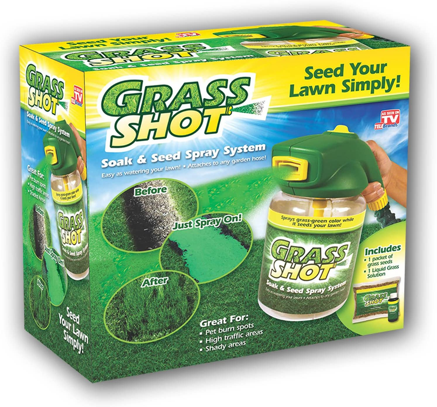 Amazon Com Grass Shot By Bulbhead The Ultimate Home Hydro
