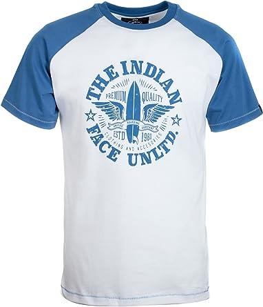 THE INDIAN FACE Camiseta de Manga Corta para Hombre: Amazon ...
