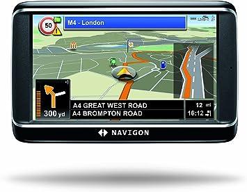 NAVIGON 40 Premium Live - Navegador GPS con mapas de ...