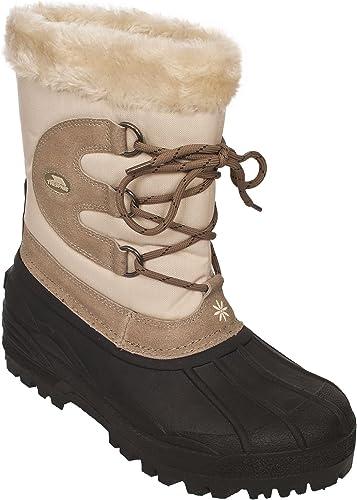 Polar Mujer Short Nieve Invierno T/áctico Monta/ña Impermeable Hiker Mitad De La Pantorrilla Botas