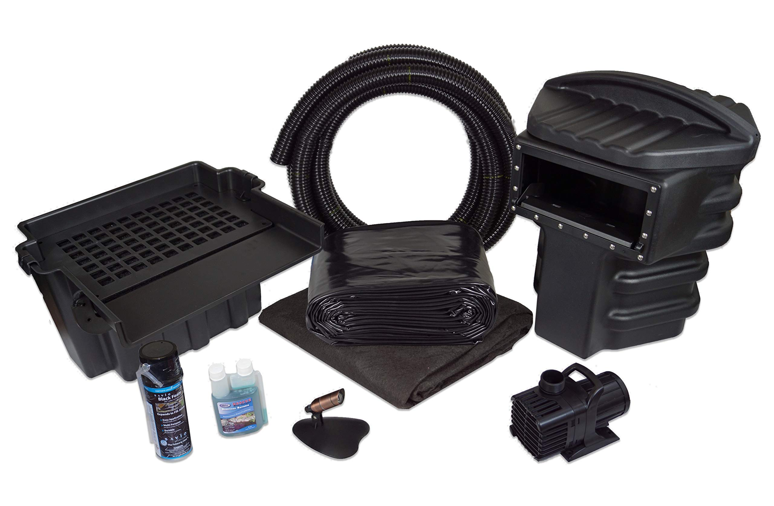 Simply Ponds 4000 Water Garden and Pond Kit with 20 Foot x 25 Foot PVC Liner by Half Off Ponds