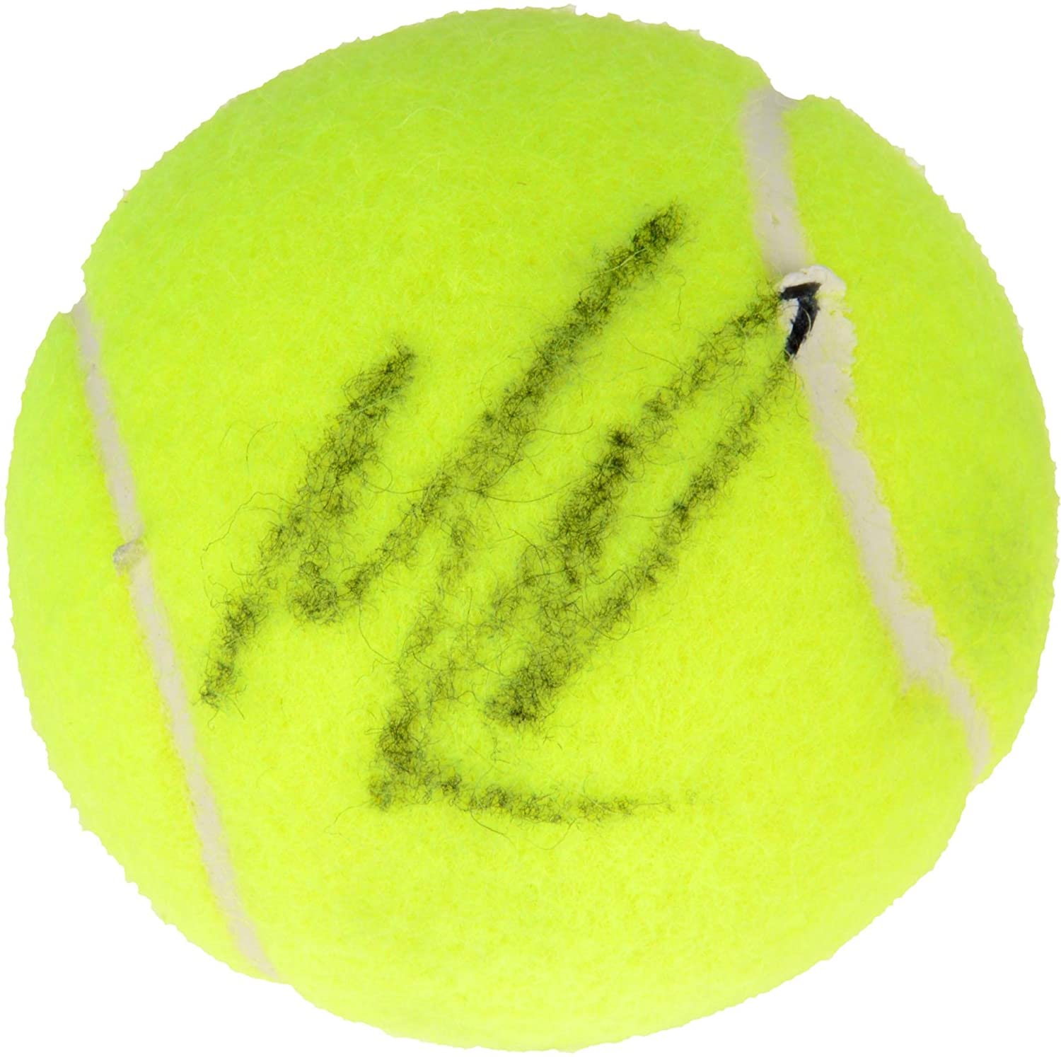 Milos Raonic Autographed Penn Red Logo Tennis Ball - Fanatics Authentic Certified - Autographed Tennis Balls
