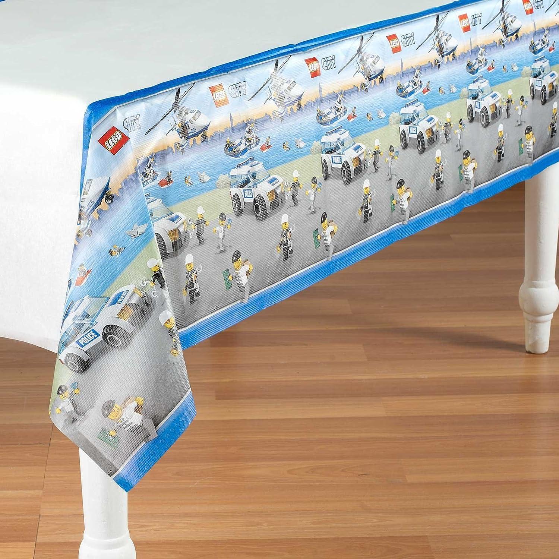 amscan International - Mantel de mesa, diseño PPR Lego: Amazon.es ...