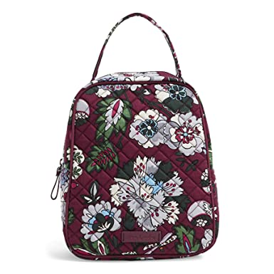 471584afd Amazon.com: Vera Bradley Iconic Lunch Bunch, Signature Cotton, One Size:  Clothing