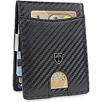 """TRAVANDO Portafoglio uomo piccolo""""SEATTLE"""" - 9 Tasche per la Carte - Porta carte di credito - Protezione RFID - Regalo perfetto per gli Uomini - Confezione Regalo - Designed in Germany"""