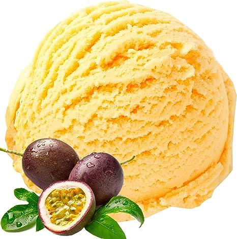 Sabor a la fruta de la pasión 1 Kg Helado en polvo Gino Gelati para el helado Polvo de hielo suave Polvo de hielo
