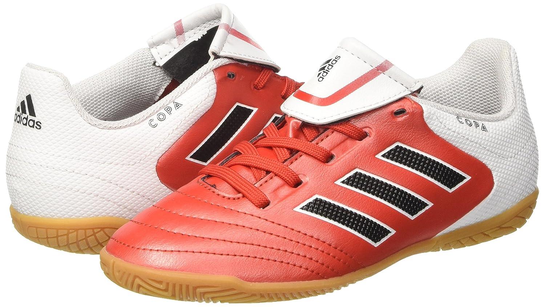 adidas Kinder und Jugendliche Copa 17.4 in Futsalschuhe, Mehrfarbig (Red/Ftwwht/Cblack), 37 1/3 EU