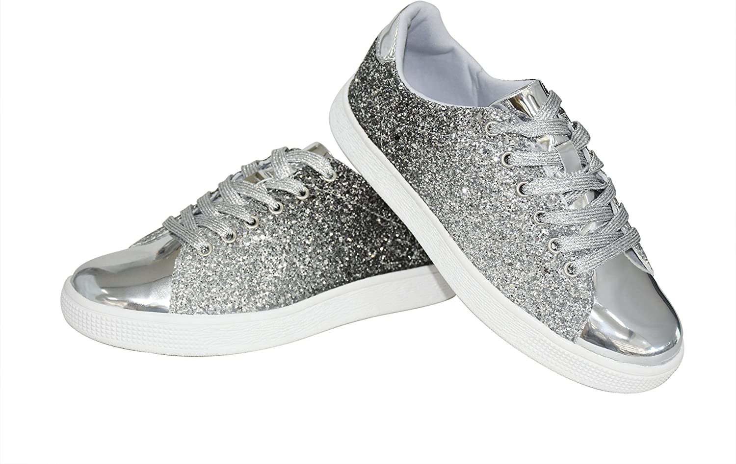 Fashion Sneakers Sparkly Shoes for