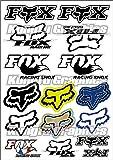 KUNGFU GRAPHICS カンフー グラフィックス ホンダ ウイングマーク ステッカー (Honda)レーシングスポンサーロゴ マイクロデカールシート(ホワイト レッド)
