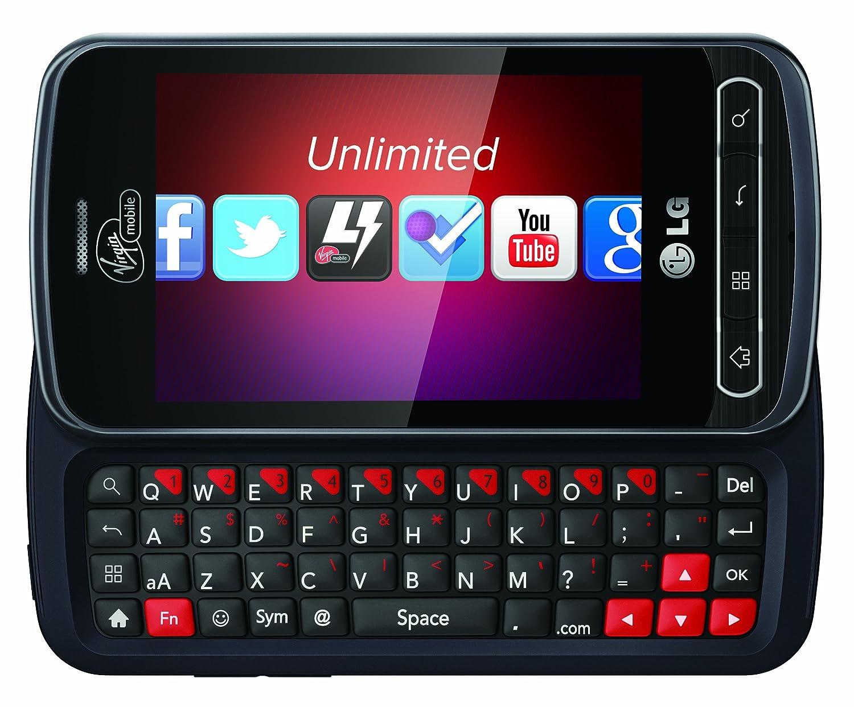 amazon com lg optimus slider prepaid android phone virgin mobile rh amazon com Straight Talk LG Optimus Zip Optimus Slider Specs