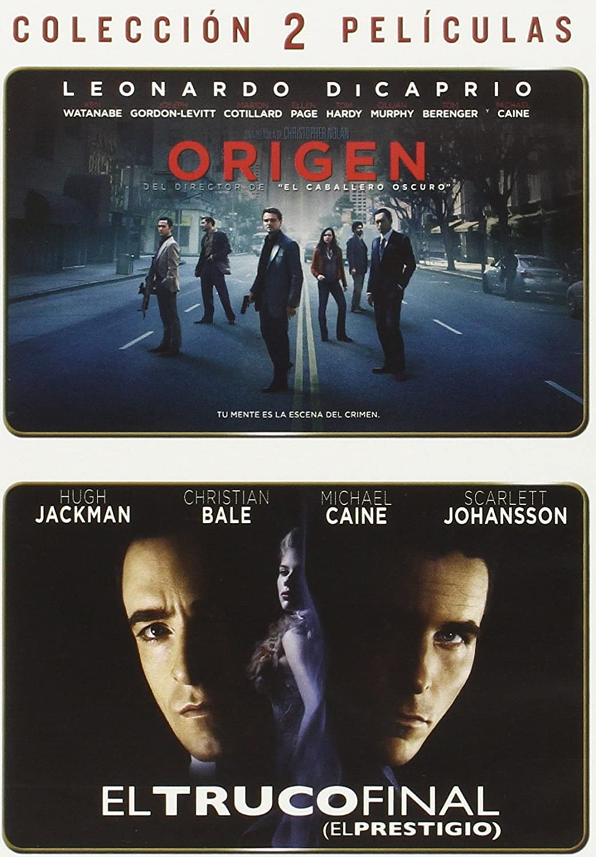 Pack Origen + Truco Final [DVD]: Amazon.es: Leonardo DiCaprio, Hugh Jackman, Christopher Nolan, Leonardo DiCaprio, Hugh Jackman, Zakaria Alaoui, Christopher Ball: Cine y Series TV
