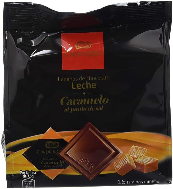 Nestlé Láminas Chocolate con Leche - Bolsa 6x135g