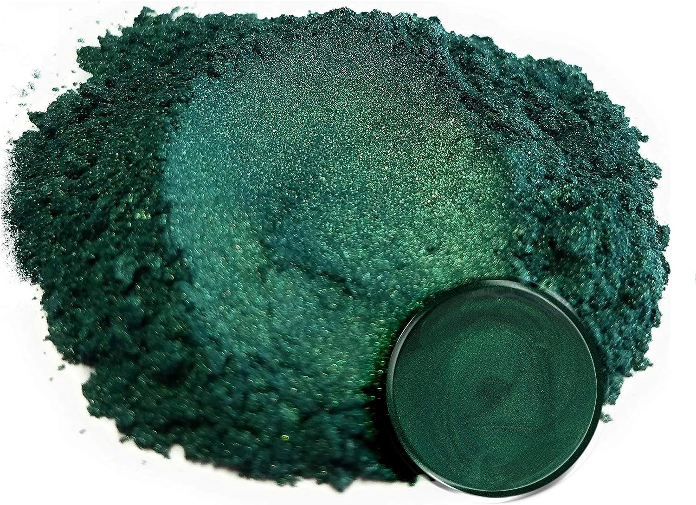 Green mica powder