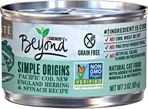 Purina Beyond Natural, Adult Wet Cat Food Pate - (12) 13 oz. Cans