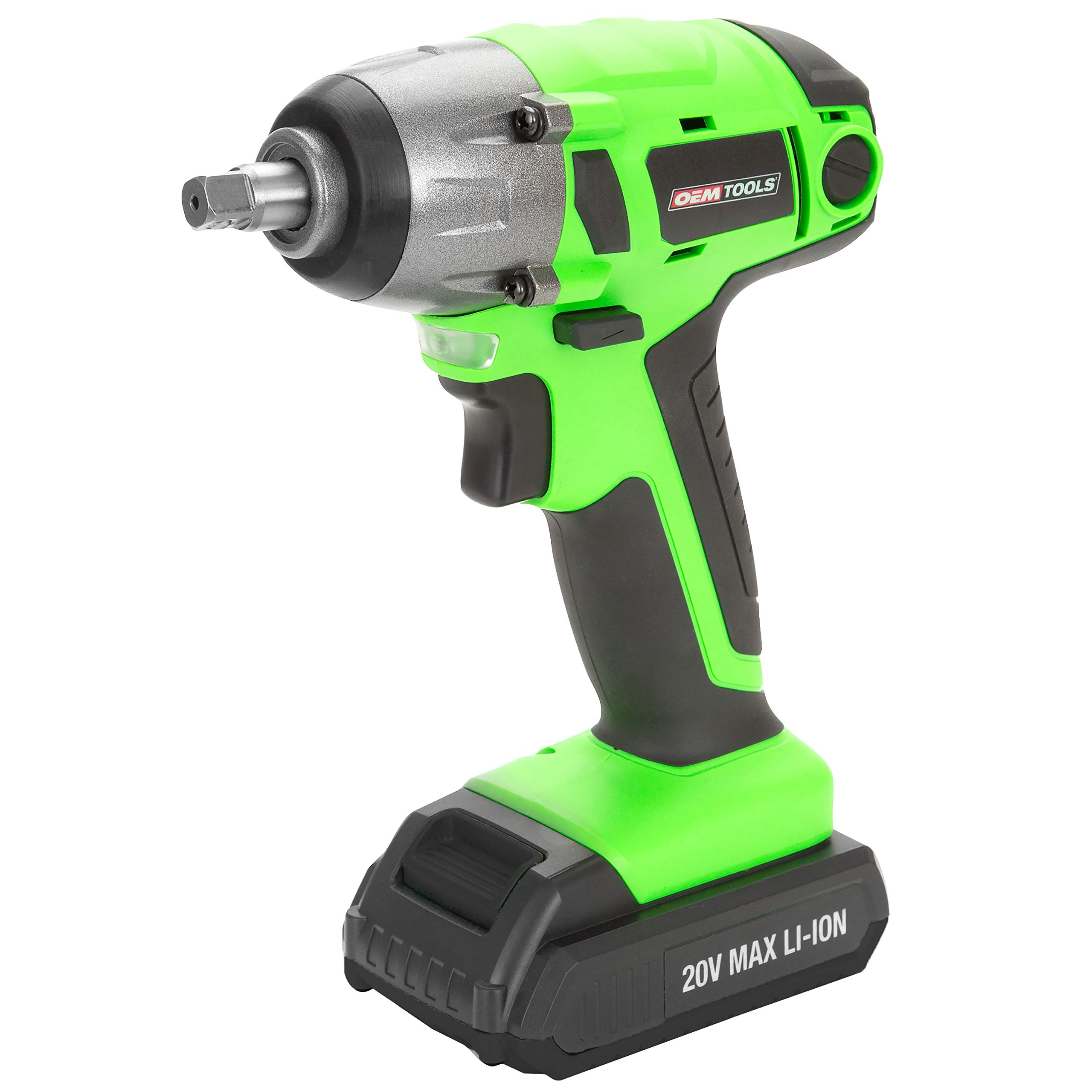 OEMTOOLS 24661 20V MAX Li-Ion 3/8 In. Drive Cordless Impact Wrench