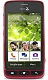 Doro Liberto 820 Mini 3G UK SIM-Free Smartphone - Ruby/Black