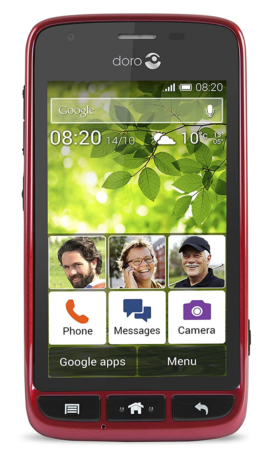 Doro 6708 Liberto 820 Mini 3g Uk Sim Free Smartphone Amazon