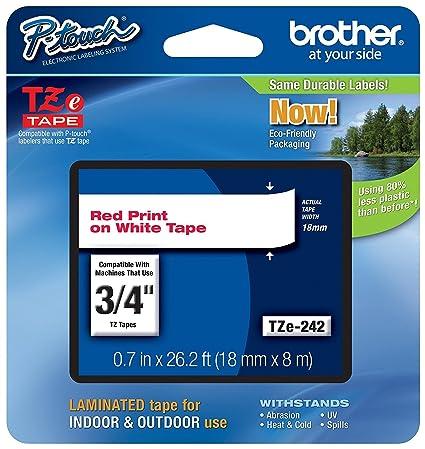 Brother Cinta laminada 18mm cinta para impresora de ...