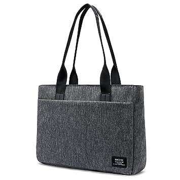 FOSTAK Bolsos totes/Bolso de hombro para mujer Bolso de viaje Messenger Bag elegante Bolsas portátiles para negocio que trabaja Notebook/ordenador ...