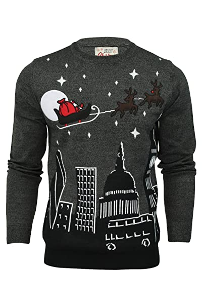 check-out 4d99e 64590 Merry Christmas - Maglione - Uomo TRANSLATE_Night Sky - Mid ...