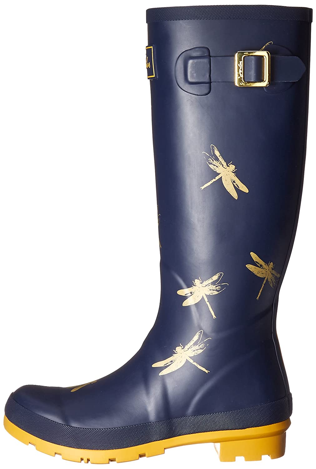 Joules Women's Welly Print Rain US|Blueprint Boot B01N3Y7OR8 6 B(M) US|Blueprint Rain Gold Dragonfly 4d0476