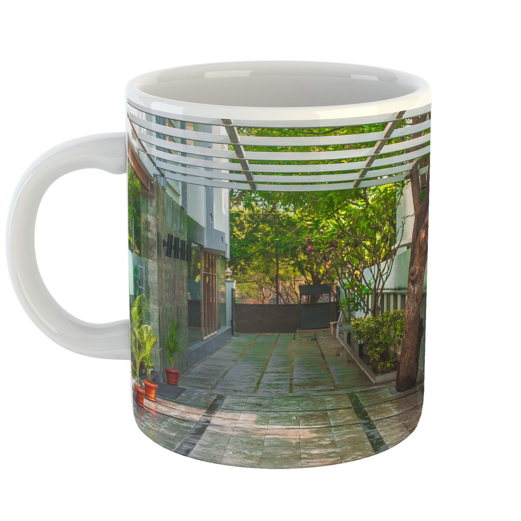 Westlake Art - Landscape Hotel - 11oz Coffee Cup Mug - Modern Picture Photography Artwork Home Office Birthday Gift - 11 Ounce (BA13-189C9)