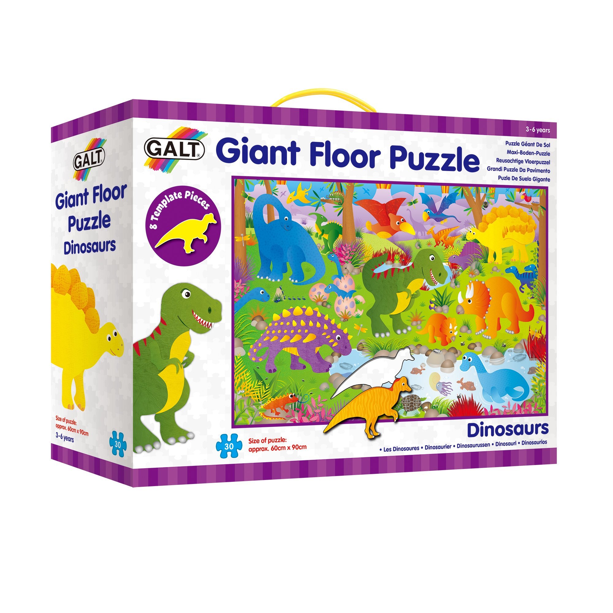 Galt Giant 36'' Floor Puzzle - Dinosaurs