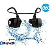 i360 Bluetooth Black Edition 8GB underwater MP3 Player for music from your smartphone