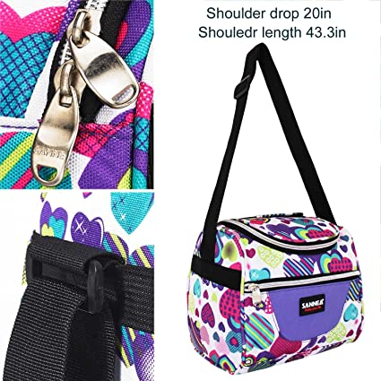 Lunch Bag For Women Kids Girls Boys Reusable Insulated Lunch Box Tote Bag for Men & Women, Kids