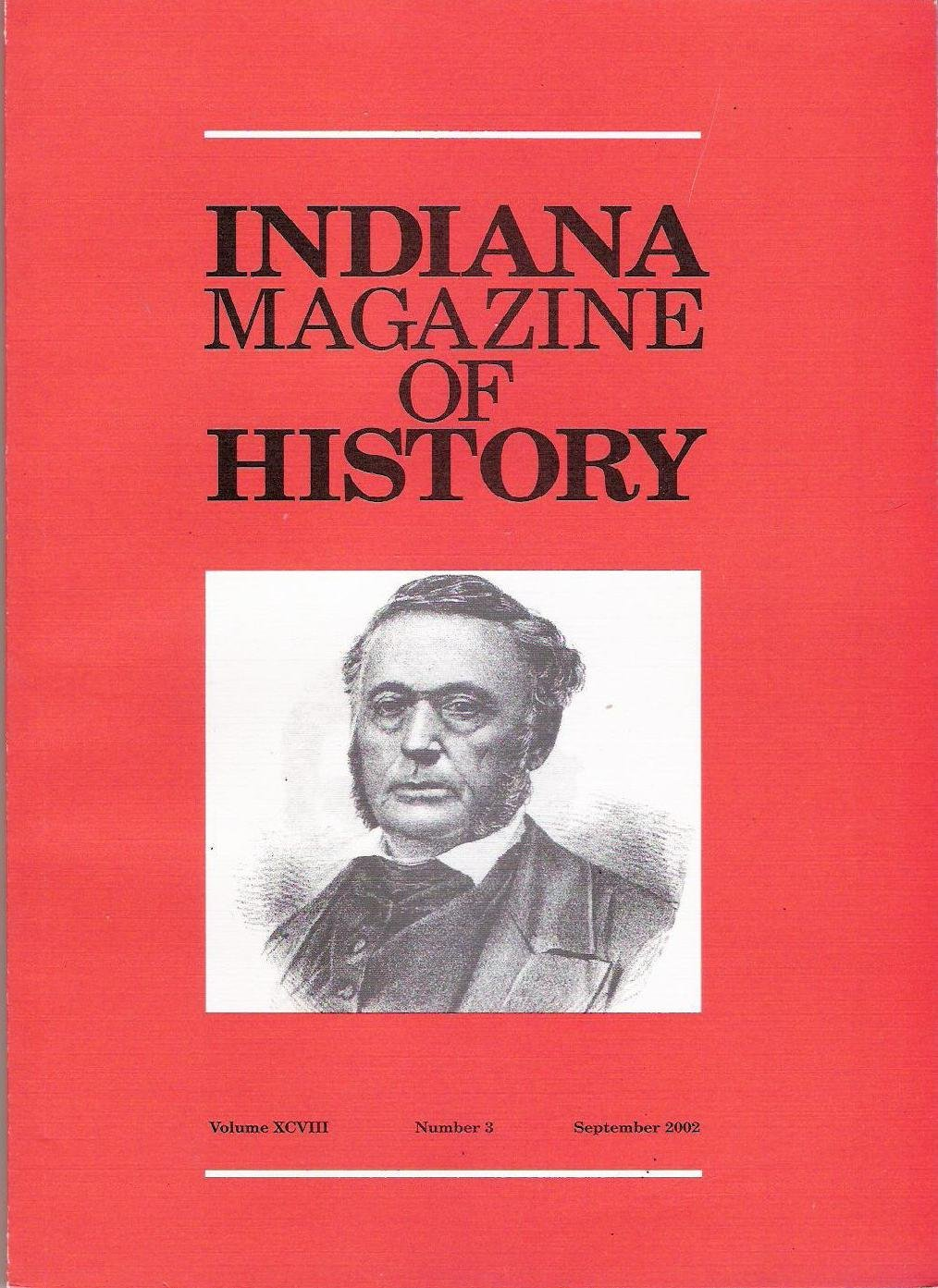 Read Online Indiana Magazine of History (Volume XCVIII Number 3 Sept 2002) ebook