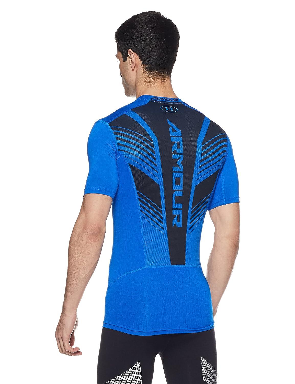 436394f4181f8 Amazon.com  Under Armour Men s HeatGear SuperVent Armour Short Sleeve  Compression T-Shirt  Sports   Outdoors