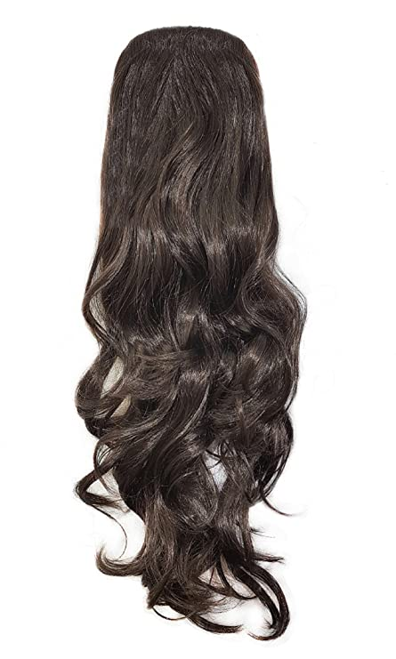 Buy Majik Synthetics Curly Wavy Ponytail Hair Extensions For Women
