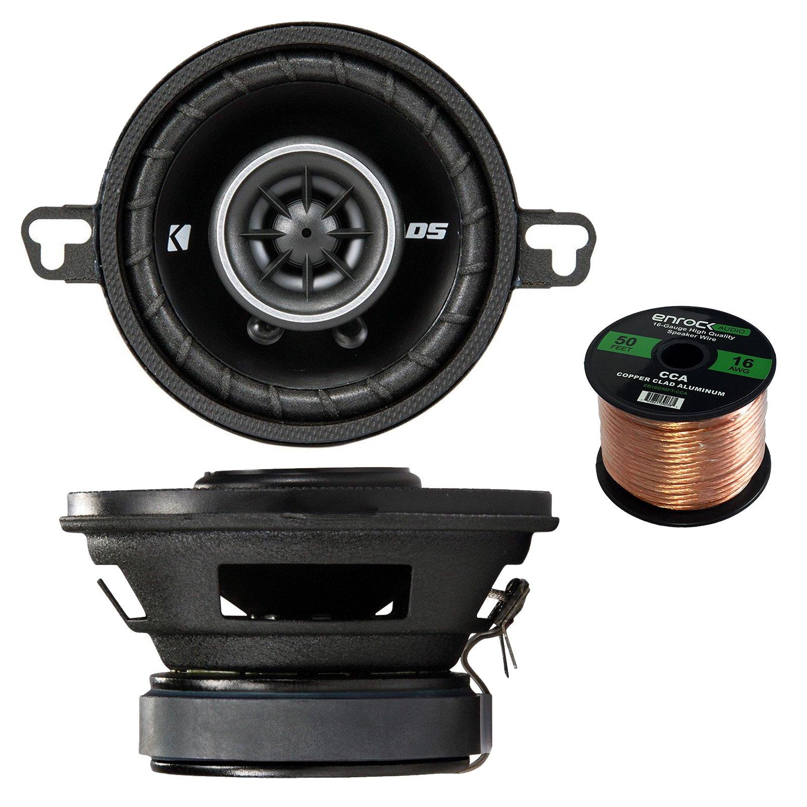 Jensen MS-3ARTL Gauge Style Marine Waterproof Stereo Bundle Combo W/ 6x JBL MS6510 6.5 Inch Boat Speakers + Jensen 4-Channel Amplifier + Enrock Universal USB / AUX To RCA 10' Extension Cable