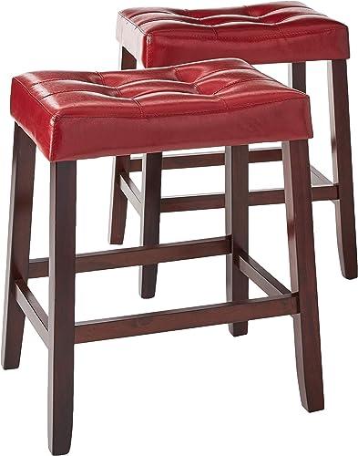 Crown Mark 2787 Kent Saddle Chair