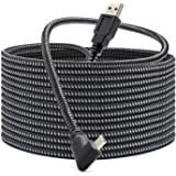 KRX Link Cable Compatible for Oculus Quest 2, Fast Charing & PC Data Transfer USB C 3.2 Gen1 Cable for VR Headset and Gaming