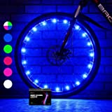 Sumree 2-Tire Pack LED Bike Wheel Lights with Batteries Included,Bike Spoke Light Super Bright .Bicycle Light Best Gifts for