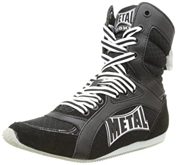 Metal Boxe Viper1 calzado, color negro, talla 44