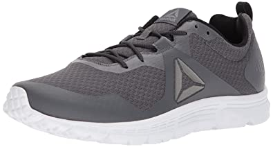 7e3b3c4852f9 Reebok Men s Run Supreme 4.0 Cross Trainer ash Flint Grey Solar Green White