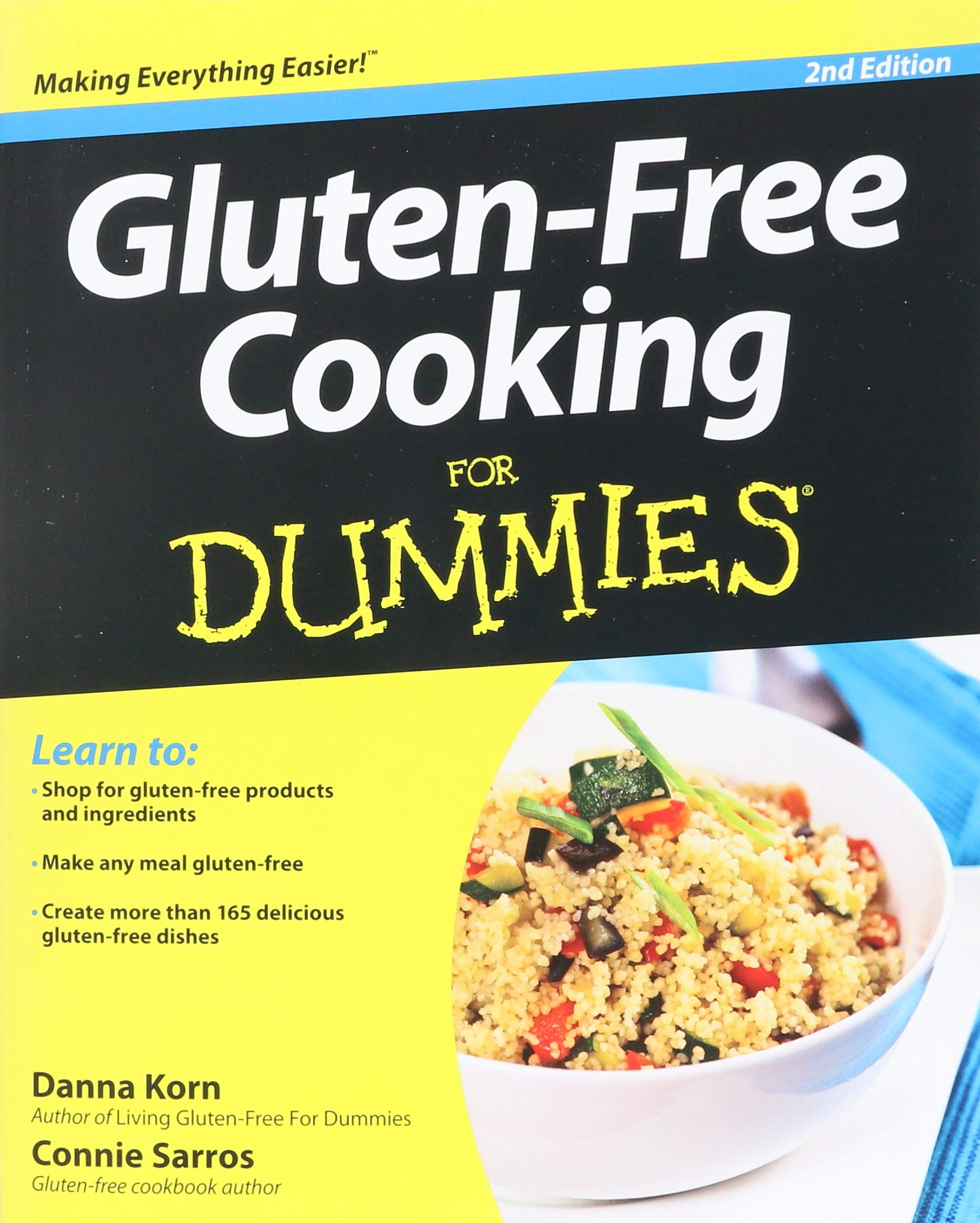 Gluten-Free Cooking For Dummies: Danna Korn: 9781118396445: Amazon.com:  Books