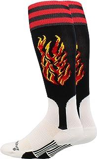Flame Baseball Stirrup Socks