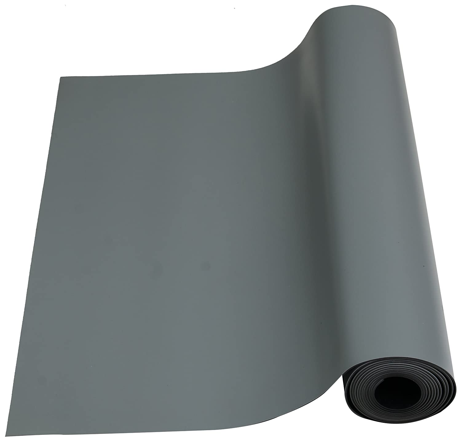 ESDProduct Rubber High Temperature Mat Roll, 5/64 Thick, 10' Length, 3' Width, Gray by ESDProduct B009WUDTCU