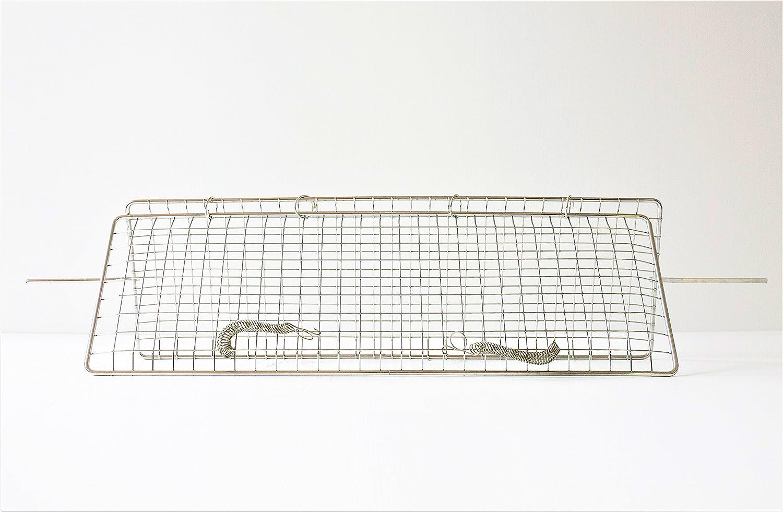 Griglia per Girarrosto cm 70 x 22 lunghezza cm 96 ALLEGRI GIRARROSTI