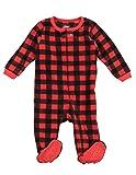 Leveret Kids Pajamas Boys Girls Footed Fleece
