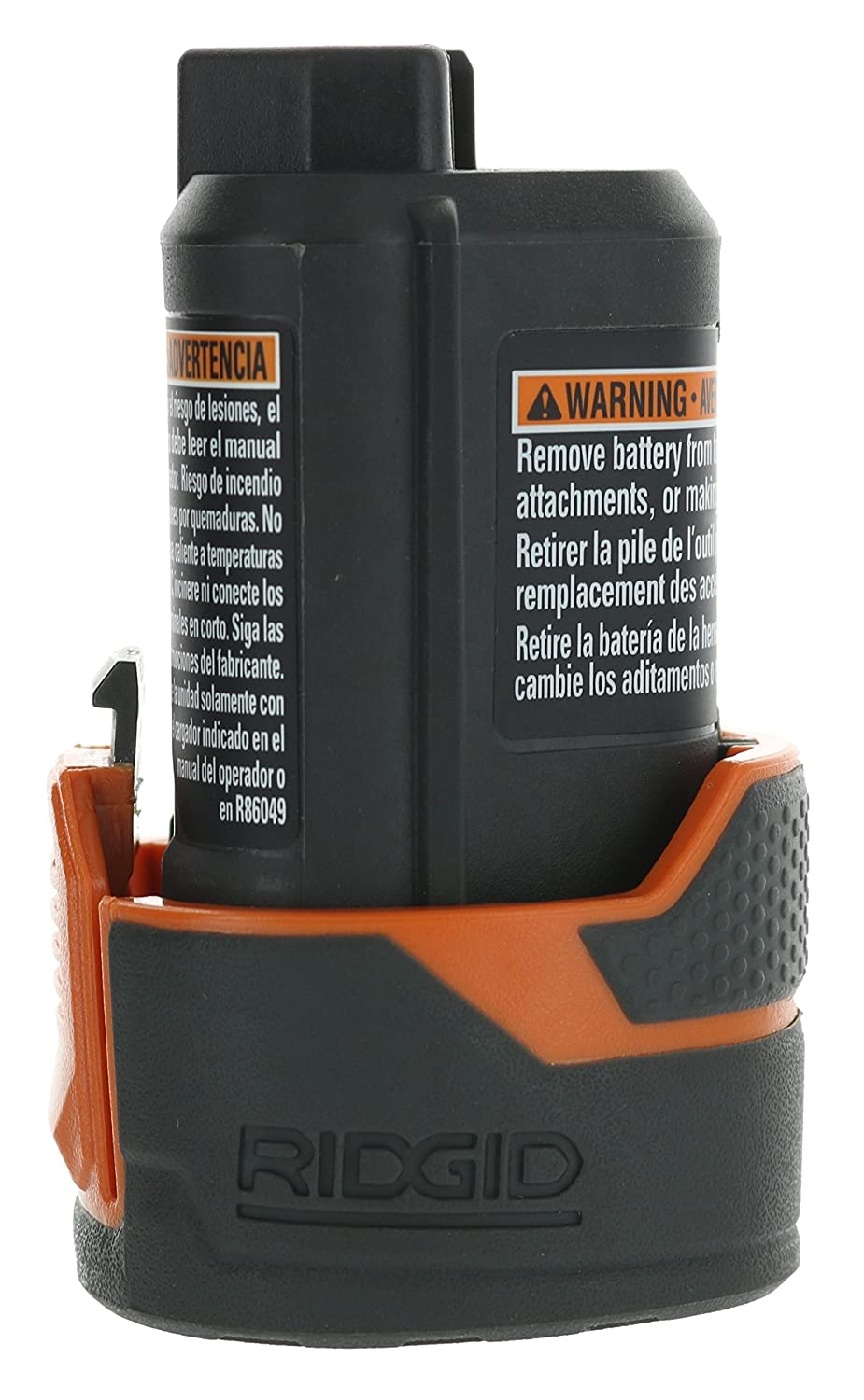 Ridgid AC82049 Genuine OEM Compact Hyper Lithium Ion 2.0 Amp Hour 12V Battery (Certified Refurbished) - - Amazon.com