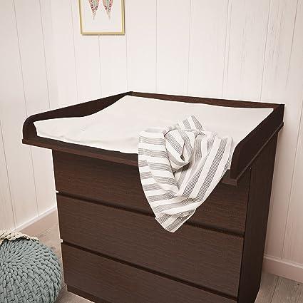 Polini Kids cambiador ufsatz cambiador accesorio para cómoda Malm IKEA de madera en diferentes colores (