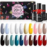 Deals on KIPOZI 20 Pcs Gel Nail Polish Set