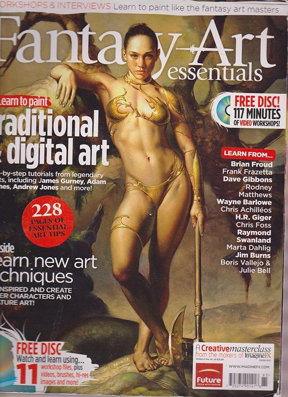 Fantasy Art Essentials Fantasy Art Magazine Brian Froud
