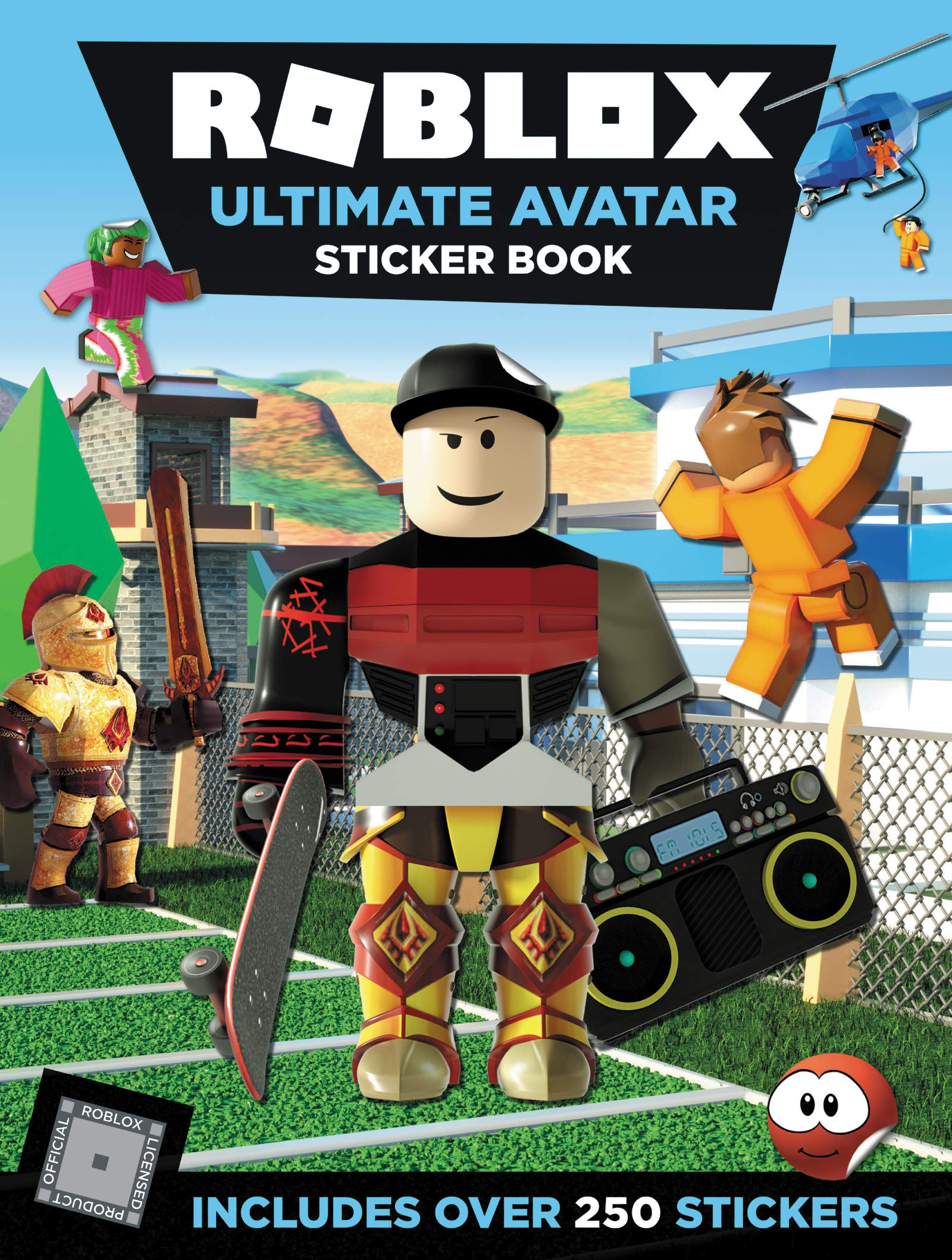 Roblox Ultimate Avatar Sticker Book por Official Roblox